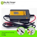 Recover Capacity 48V Car Battery Pulse Desulfator (Yellow)